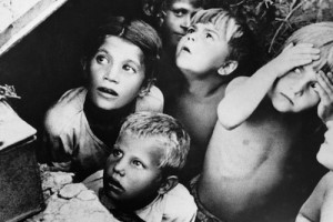RIAN_archive_137811_Children_during_air_raid