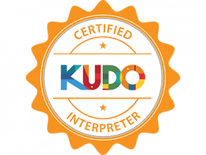 kudo-interpreter-badge-Silvia-Pala